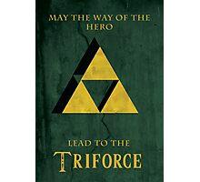 Triforce Lives Photographic Print