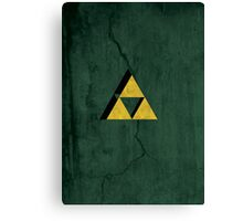 Triforce Alone Canvas Print