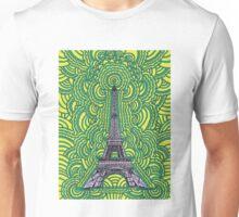 Eiffel Tower Drawing Meditation Unisex T-Shirt