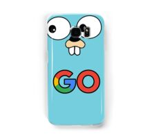google go programming language color Samsung Galaxy Case/Skin