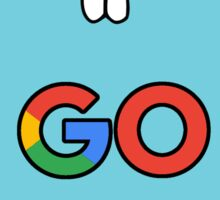google go programming language color Sticker