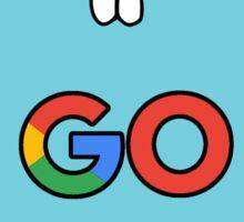 google go programming language color Sticker