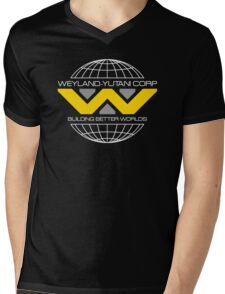 WEYLAND YUTANI ALIEN (1) Mens V-Neck T-Shirt