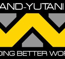 WEYLAND YUTANI ALIEN (1) Sticker