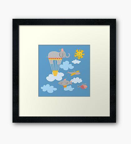 Flying Circus Framed Print