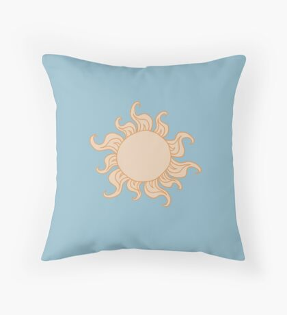 Sun - Ancient Greek Style Throw Pillow