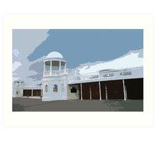 The Colonnades, De La Warr Pavilion Art Print
