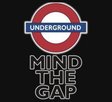 TUBE, London, Underground, Mind the gap, BRITISH, BRITAIN, UK, English,on WHITE Kids Tee