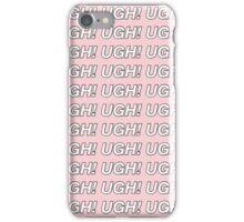 the 1975 UGH! design iPhone Case/Skin