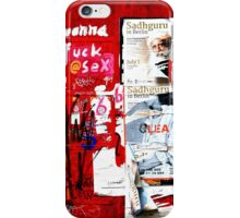 Wall Painting in Berlin Mitte iPhone Case/Skin