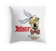 Asterix And Obelix Cartoon Throw Pillow