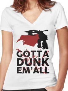 Darius Dunk Women's Fitted V-Neck T-Shirt