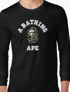APE CAMO Long Sleeve T-Shirt