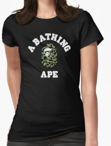 APE CAMO Womens Fitted T-Shirt