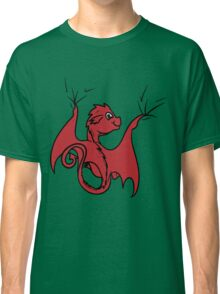 Red Dragon Rider Classic T-Shirt