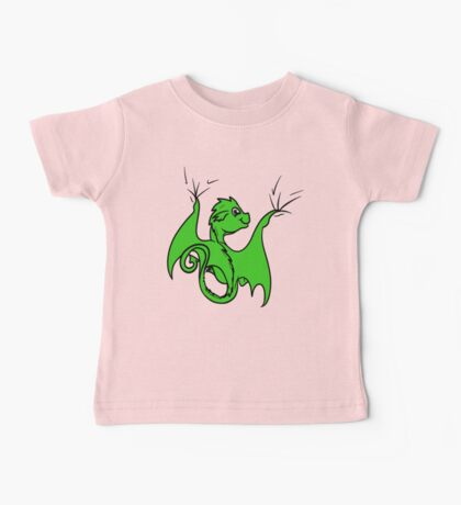 Green Dragon Rider Baby Tee