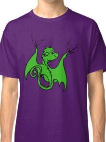 Green Dragon Rider Classic T-Shirt