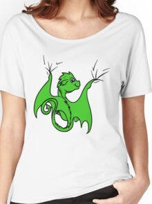 Green Dragon Rider Women's Relaxed Fit T-Shirt