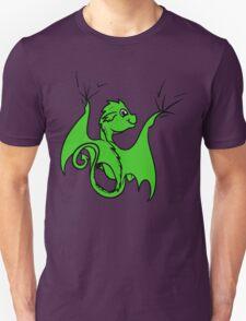 Green Dragon Rider Unisex T-Shirt