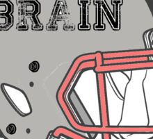 No Brain No Pain (2) Sticker