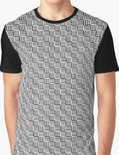 Black & White Basket Graphic T-Shirt