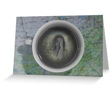 A world of tea Greeting Card