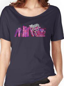 FanGirl Bookshelf Women's Relaxed Fit T-Shirt