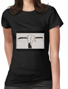 Black Stockings ~ no suspenders! Womens Fitted T-Shirt