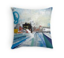 LIVERPOOL WATERFRONT 2 Throw Pillow