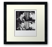 why doesn't he look at me? Framed Print