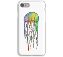 Watercolor Jellyfish Design iPhone Case/Skin