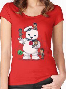Puft Buddies Women's Fitted Scoop T-Shirt