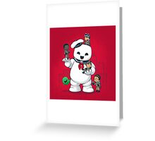 Puft Buddies Greeting Card