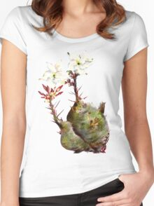 Baby Bottle Tree Women's Fitted Scoop T-Shirt