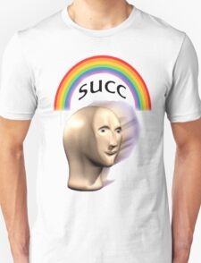 Succ rainbow Unisex T-Shirt