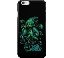 This Is Horror Green on Black OctoTerror iPhone Case/Skin