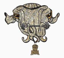 Sepia Cuttlefish One Piece - Short Sleeve