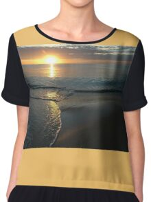 Maslin Beach Sunset, South Australia 2005 Chiffon Top