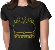 princess's crown Womens Fitted T-Shirt