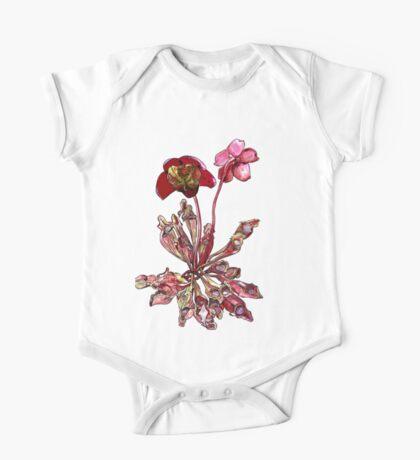 Pitcher Plant, Sarracenia purpurea One Piece - Short Sleeve