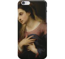 Bartolomé Esteban Murillo - The Virgin of the Annunciation iPhone Case/Skin