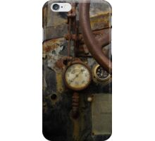 Rusty controls iPhone Case/Skin