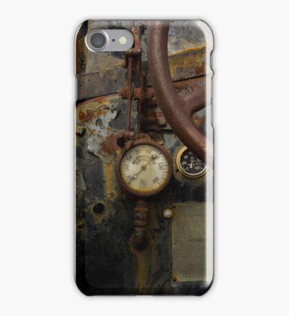 Rusty controls iPhone Case/Skin