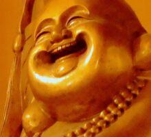 HAPPY BUDDHA!   ^ Sticker