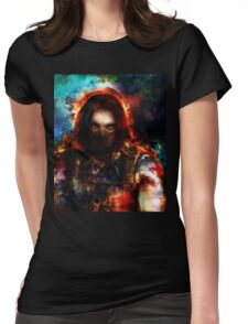 winter one Womens Fitted T-Shirt