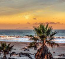 Wake up for Sunrise in California Sticker