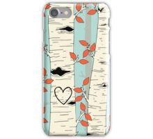 In the Birch Trees iPhone Case/Skin