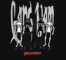 GANGNAM Style Halloween Skeletons Dancing  Unisex T-Shirt