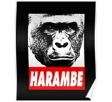 Harambe the gorilla.  Poster