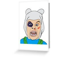 Finn The Human Original Illustration Greeting Card